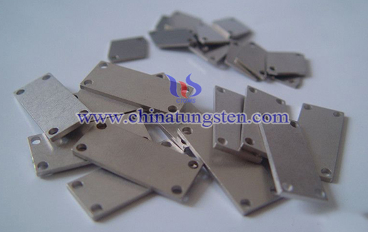 Tungsten Copper Heat Spreader Picture
